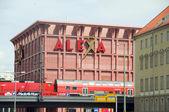 Alexa shopping mall on Alexanderplatz Berlin Germany — Stock Photo