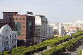 Avenue Habib Bourguiba, Tunis, Tunisia — Stock Photo