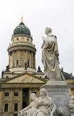 The German Cathedral Gendarmenmrkt Berlin — Stockfoto