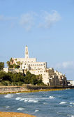 St. Peter's Church old city Jaffa Tel Aviv Israel on Mediterrane — Stock Photo