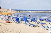 Beach Mediterranean Sea Jaffa Tel-aviv Israel — Stock Photo