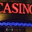 Casino neon - Stock Photo