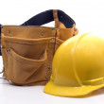 ������, ������: Tool belt an hard hat