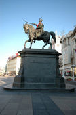 Statue ban jelacic zagreb — Photo