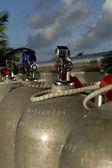 スキューバ タンク — ストック写真
