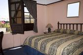 Santo domingo hotelový pokoj — Stock fotografie