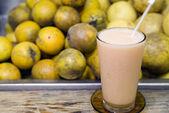 Fresh fruit drink — Stock Photo