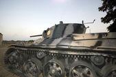 Military tank at the fortaleza — Stock Photo