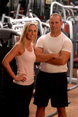 Fitness couple — Photo