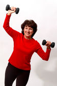 Work out time — Stock Photo
