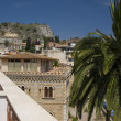 Taormina sicily italy architecture and view — Stock Photo #12921025