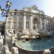 Stock Photo: Fountain of trevi rome italy