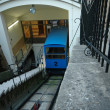 Funicular zagreb — Stock Photo