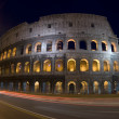 Colosseum at night dusk — Stock Photo #12921985