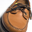 Rugged quality leather moccasin — Stock Photo #12928345