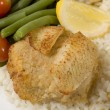Постер, плакат: Stuffed fillet of sole