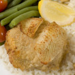 Stuffed fillet of sole — Stock Photo #12929118