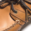 Stock Photo: Rugged quality leather moccasin