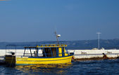 Yellow boat — Foto Stock