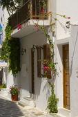 Grekiska ön gatubilden — Stockfoto