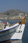 Fishing boats greek islands — Photo