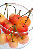 Rainier cherries — Stock Photo