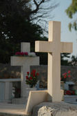 Cemetery greece — Stock Photo
