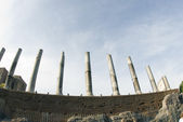 Ancient ruins columns rome — Foto de Stock