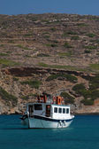 Excursion boat — Stockfoto