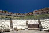 タオルミーナ ギリシャ ローマ劇場イタリア — ストック写真