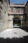 Palace entrance — Stock Photo
