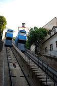 Funicular zagreb — Stock Photo