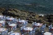 Seaside restaurant — Stock Photo