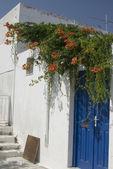 Griekse eiland straatbeeld — Stockfoto