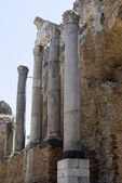 Ancient theater taormina — Stock Photo