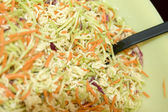Home made cole slaw salad — Stock Photo