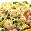 Shrimp scampi - Stock Photo