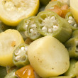 Okra and squash - Stock Photo