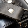 Leather bag detail — Stock Photo