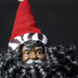 Black santclaus — Stock Photo #13053912