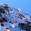 Dusk santorini — Stock Photo