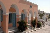 Greek island architecture — Stock Photo