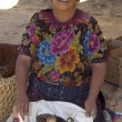 Stock Photo: Fowl vendor guatemala