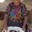 Fowl vendor guatemala — Stock Photo
