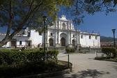 Cathedral san jose antigua guatemala — Stock Photo