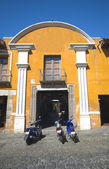 Colonial building antigua guatemala — Stock Photo