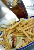 Triple decker sandwich — Stock Photo