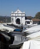 Guatemala church in chichicastenango — Stock Photo