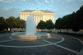 Hotel fontána záhřeb — Stock fotografie