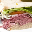 Stock Photo: Deli combination sandwich corned